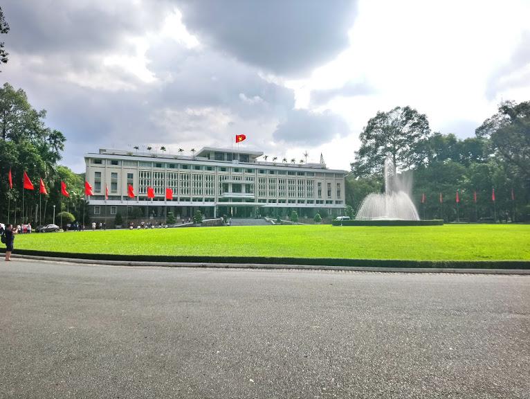 統一会堂(旧南ベトナム大統領公邸)