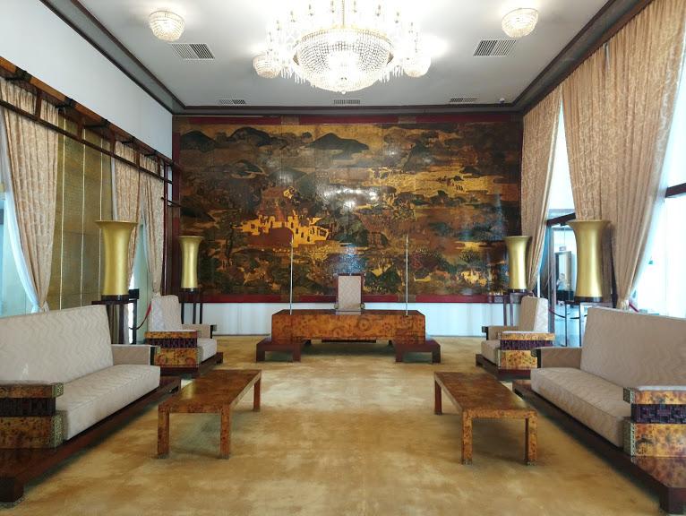 大統領公邸時代の来賓室